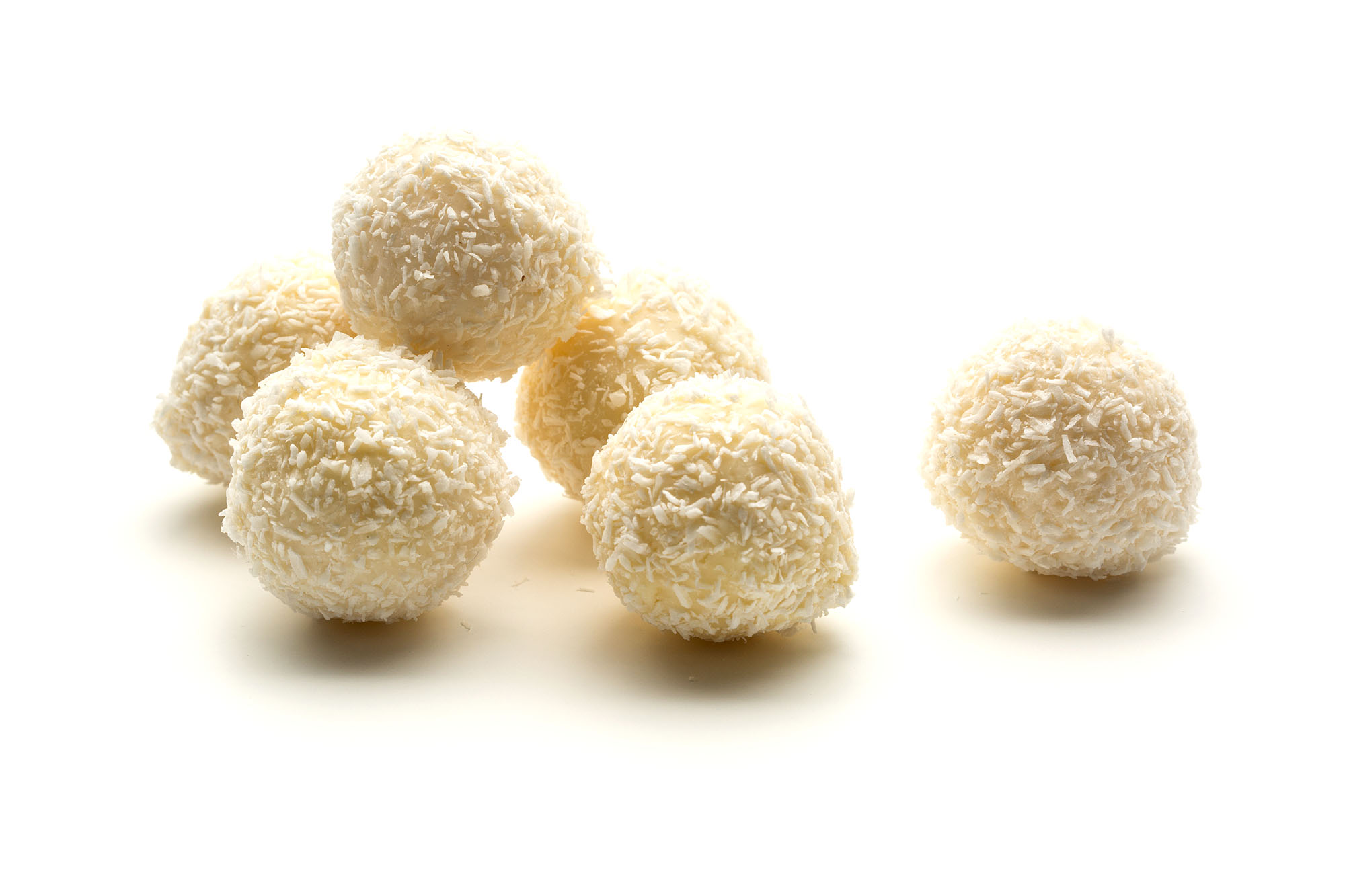 coconut and malibu truffle