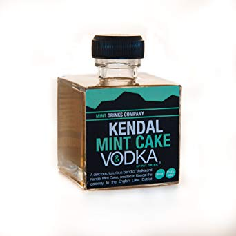 5cl vodka infused with Kendal mint Cake