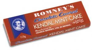 Romneys chocolate covered kendal mint cake