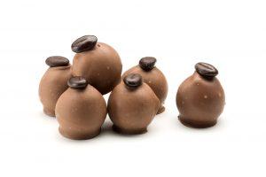 creamy cappuccino truffles