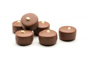 milk chocolate salted caramel chocolates