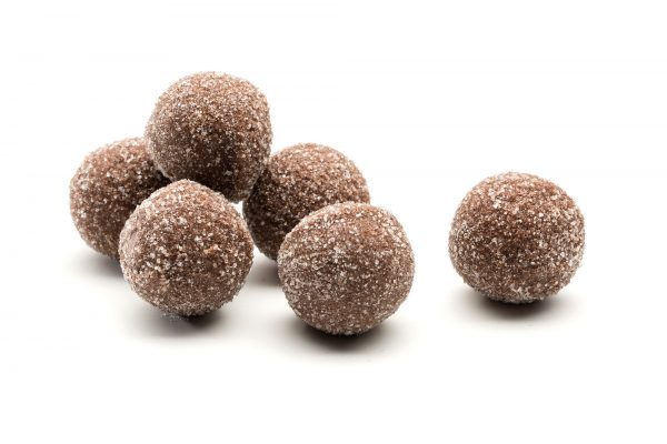Buttery viennese truffle in milk chocolate