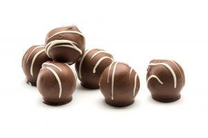 milk chocolate hand made vanilla truffles