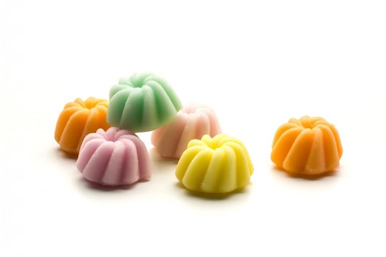 fruit flavoured fondant creams