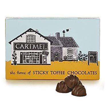 120g sticky toffee pudding chocolates