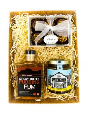 Sticky toffee hamper
