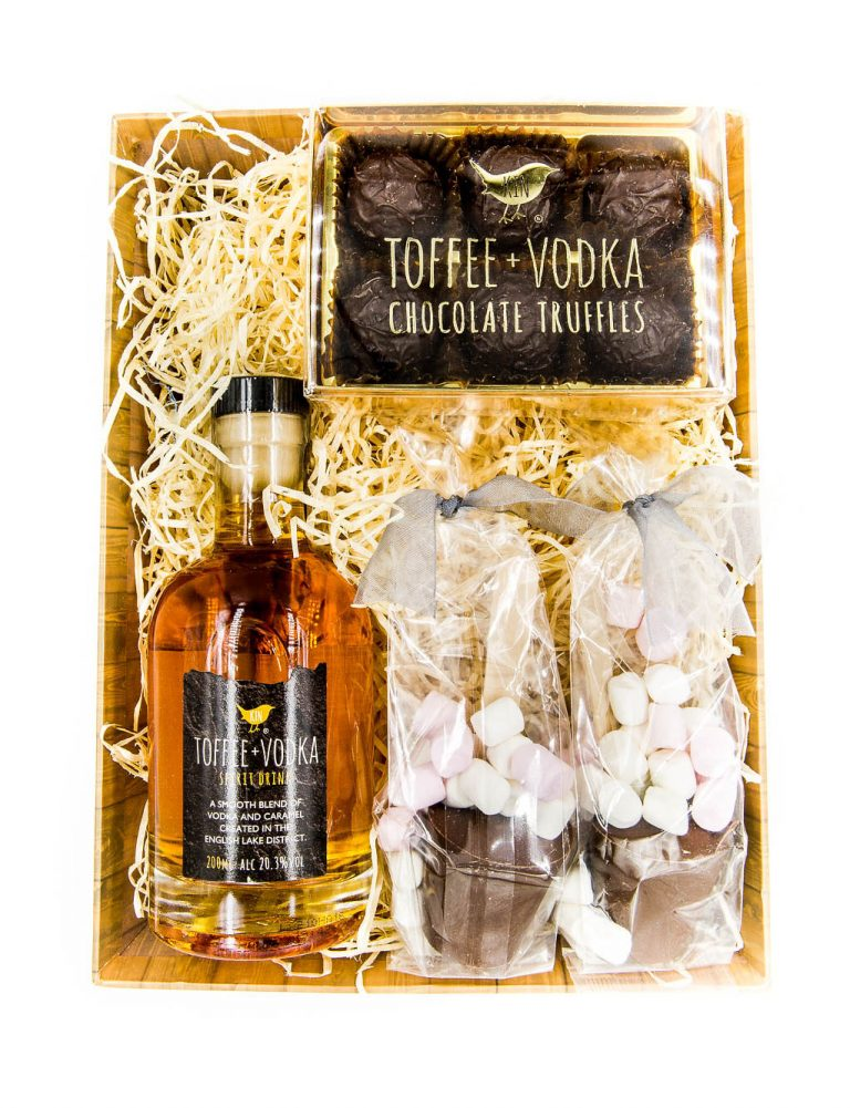 Kin toffee vodka hamper